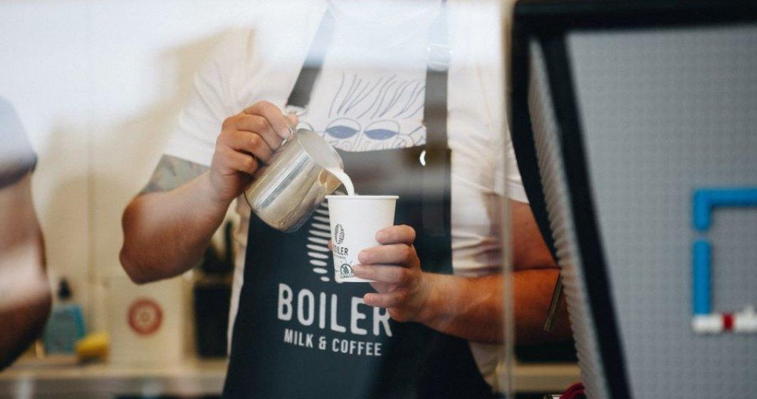 Boiler Milk&Coffee: 18 metri pătrați pentru cafea, un business deschis în pandemie și un cartier pus în mișcare