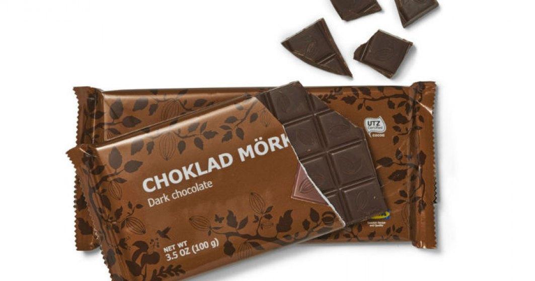 IKEA recheama doua modele de ciocolate in magazin