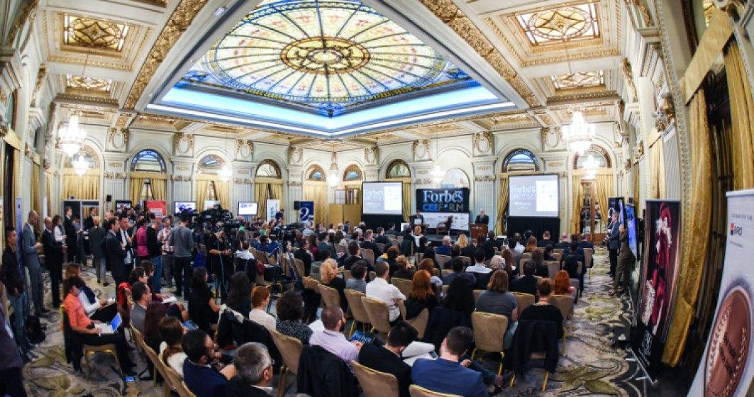 (P) Forbes CEE Forum 2016: Europa are nevoie de antreprenori; cercetarea si dezvoltarea trebuie sa avanseze, iar rata saraciei sa scada