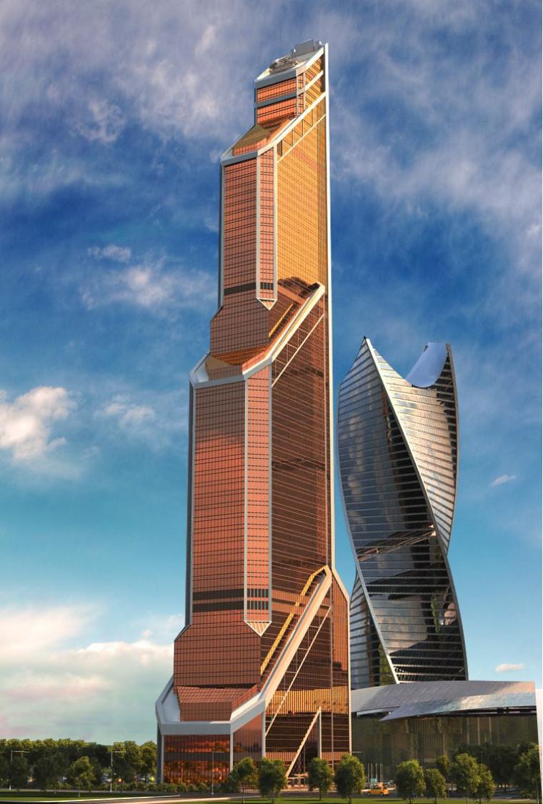 Mercury City Tower - Moscova