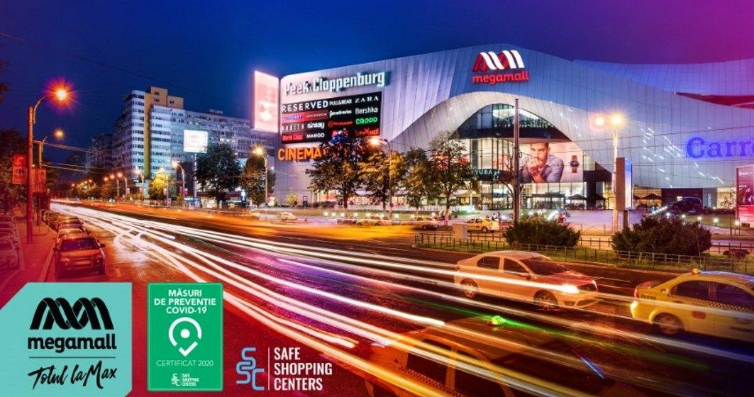 Mega Mall, primul centru comercial din România certificat contra Covid-19