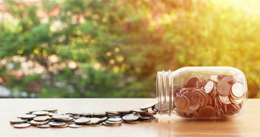 Cum s-a blocat activitatea unui ghișeu ANAF: Un timișorean a plătit o amendă cu 2 kg de monede