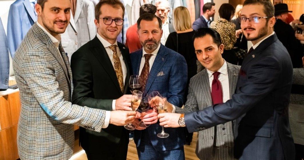 Tudor Tailor a lansat franciza internationala si a deschis primul showroom in Belgia
