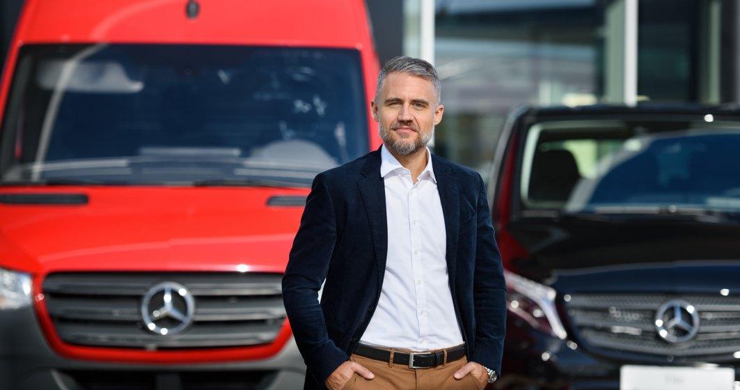 """Mercedes-Benz Vans lansează campania """"Curajul de a merge mai departe"""" și anunță beneficii financiare la achiziția de autovehicule de transport"""