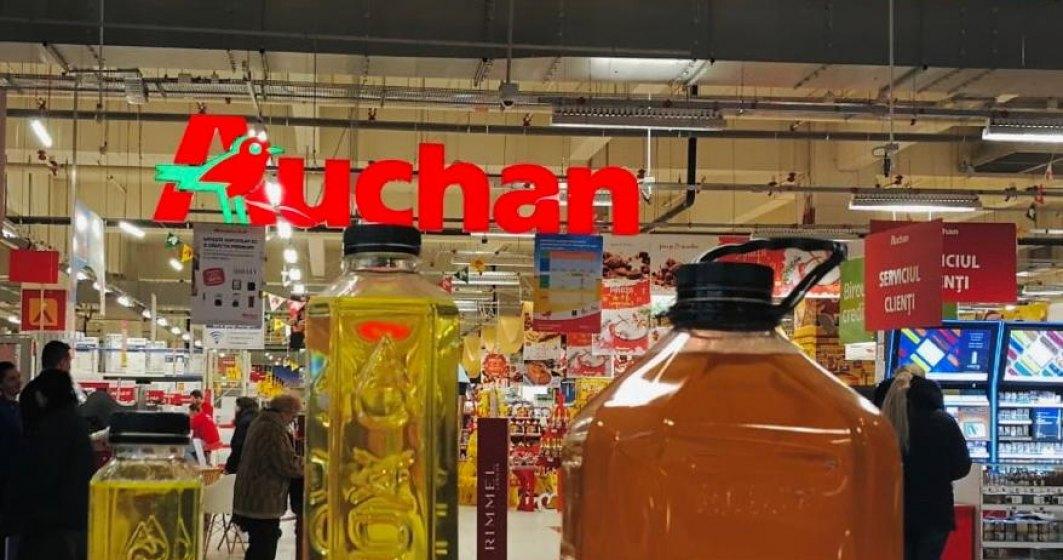 Hipermarketurile Auchan au colectat 10.000 de litri de ulei alimentar uzat in 5 saptamani