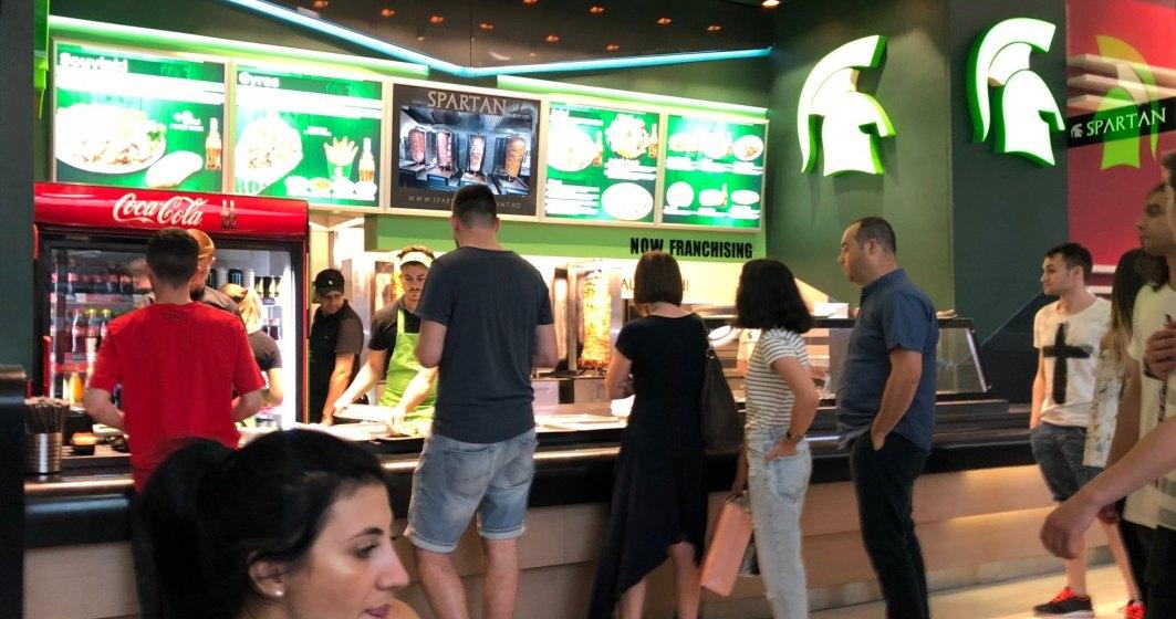 Restaurantul Spartan din Mega Mall, redeschis cu o investitie de circa 110.000 euro