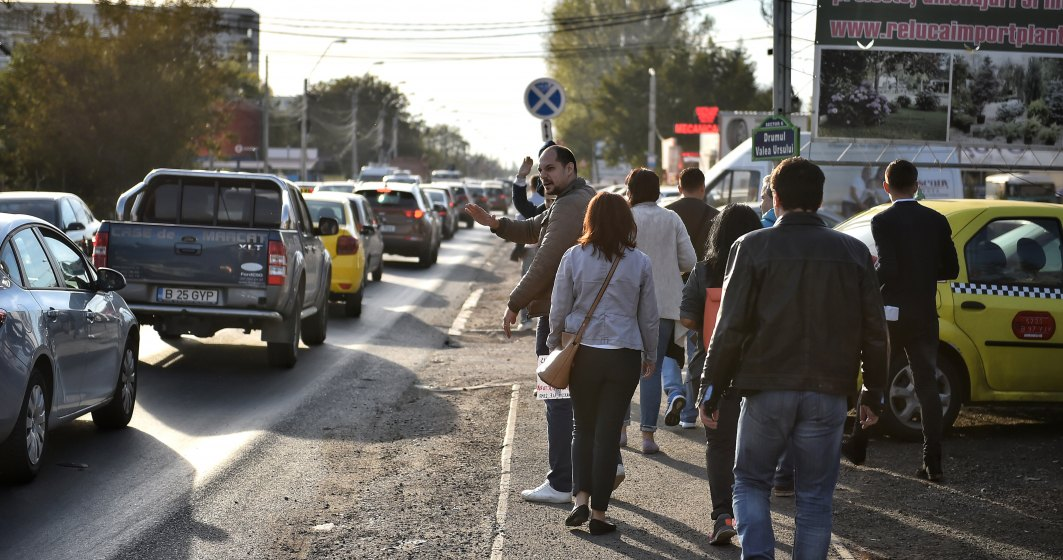 Protest pentru largirea Prelungirii Ghencea si construirea Pasajului Domnesti