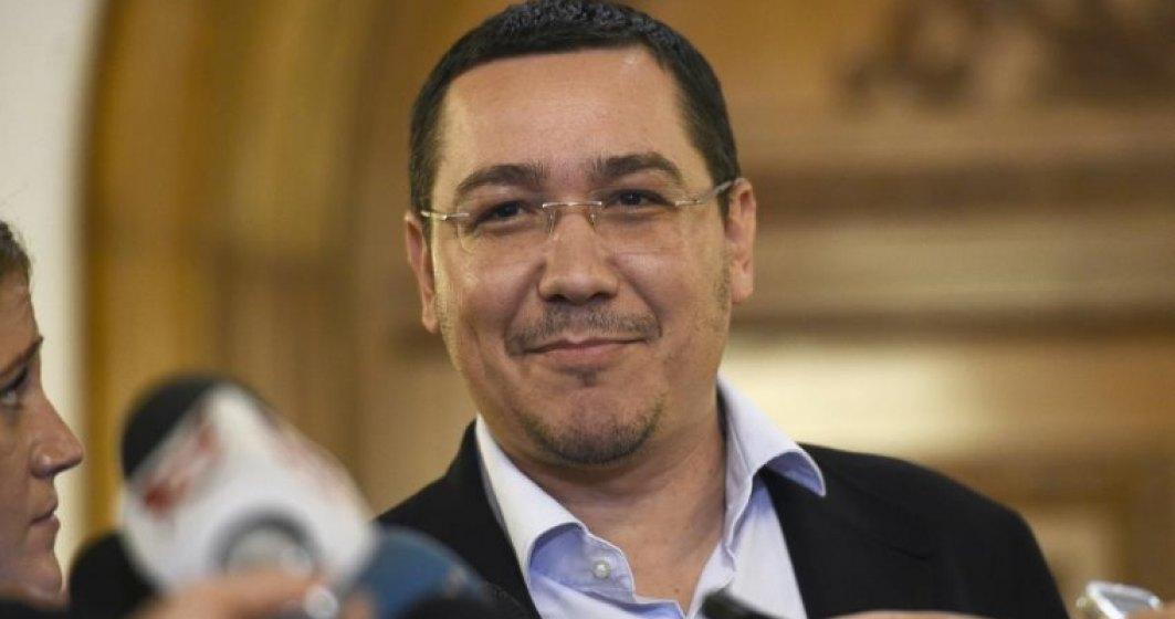 Ponta: Dragnea, cel mai apropiat om de sistem din PSD. Cerea sprijin ca sa fie achitat