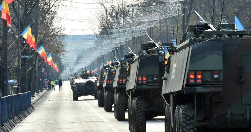 A inceput Parada Militara de Ziua Nationala. Romanii de pretutindeni sarbatoresc Ziua Nationala si Centenarul Marii Uniri
