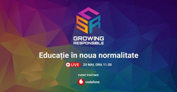 CSR Growing Responsible | Educația în noua normalitate: tableta a luat locul...