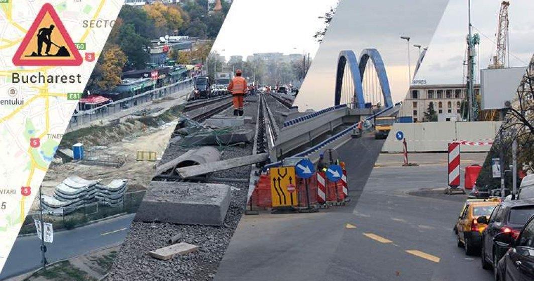 Proiect de infrastructura de 1,56 MLD. euro pentru Bucuresti