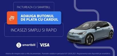 Digitalizarea IMM: SmartBill și Visa simplifică încasarea facturilor prin...