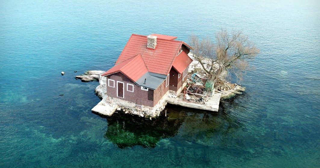 O casă cât o insulă! Top 5 case care ocupă o insulă întreagă!