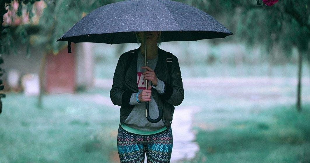 ALERTĂ METEO: Cod galben de vijelii și ploi teorențiale