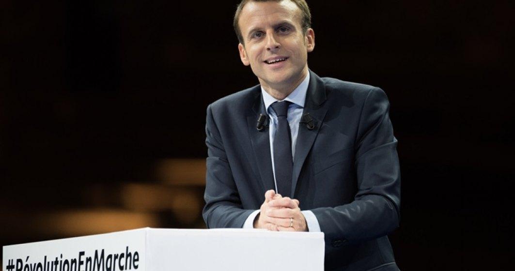 ALEGERI IN FRANTA: Emmanuel Macron ar fi obtinut intre 62% si 64% dintre voturile exprimate, potrivit presei belgiene