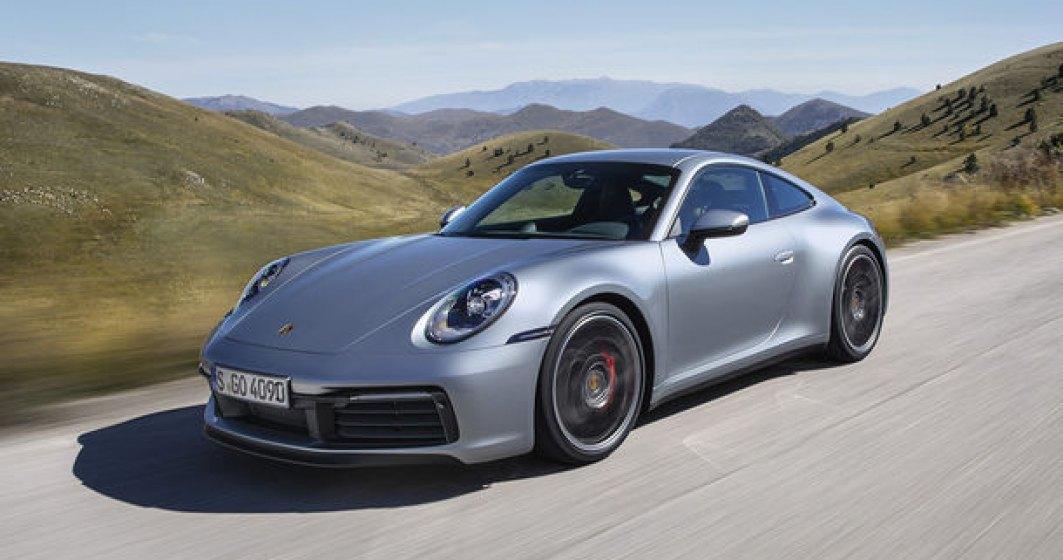 Noua generatie Porsche 911 este disponibila in Romania: start de la 126.000 de euro