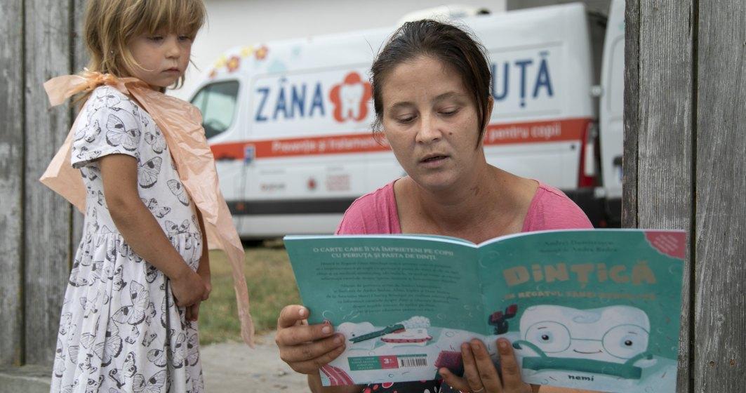 Reportaj: In deplasare cu Zana Merciluta care salveaza dintii copiilor de la satele din Delta Dunarii
