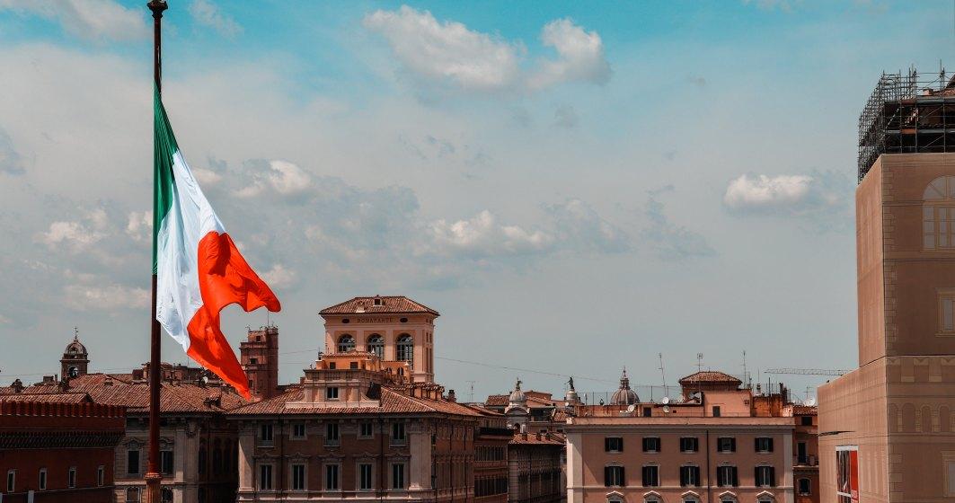 Declin fără precedent al economiei Italiei, dar mai redus decât estimările analiştilor