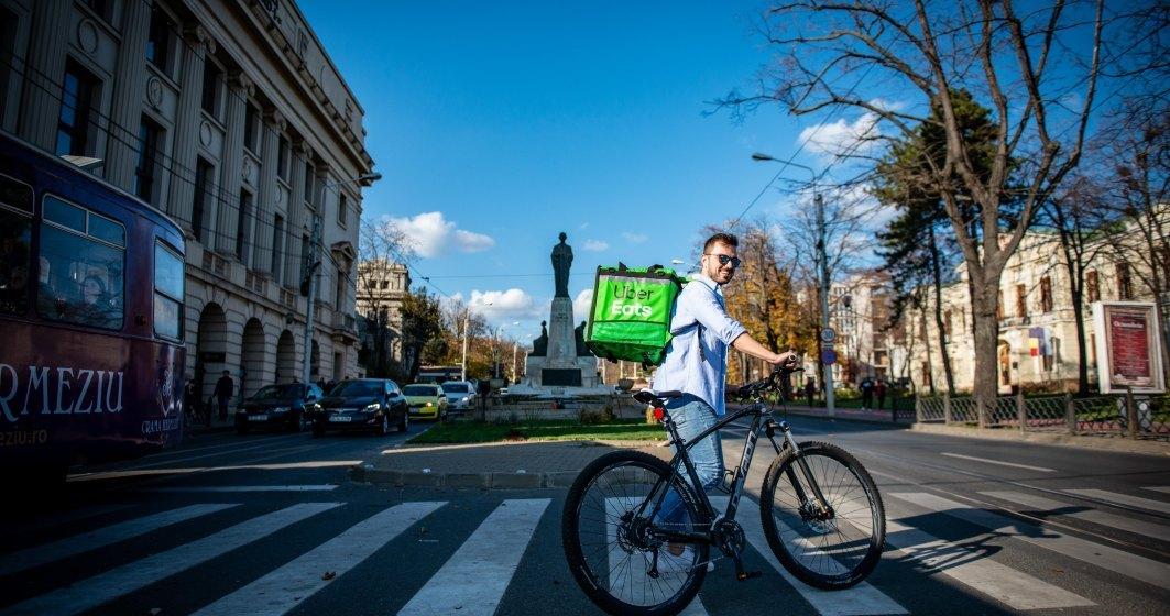 Uber Eats renunță la taxa de livrare pentru toți utilizatorii din România până pe 22 martie