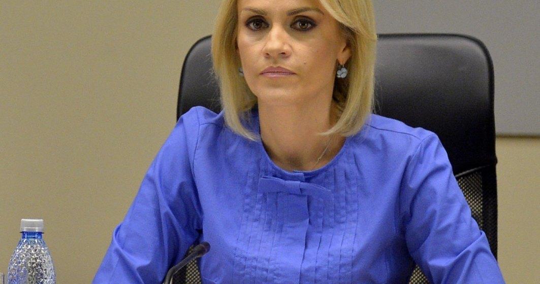Gabriela Firea: S-a incercat ca prefectul sa fie scos tap ispasitor