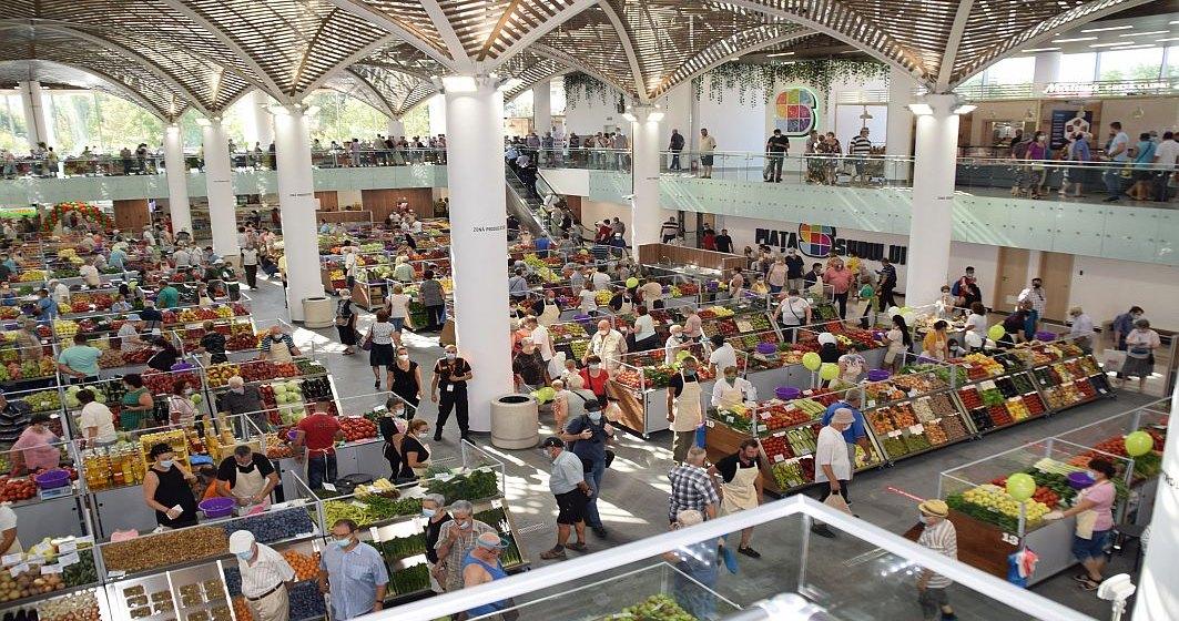 FOTO Cum arată Piaţa Sudului din Bucureşti, care a fost inaugurată azi
