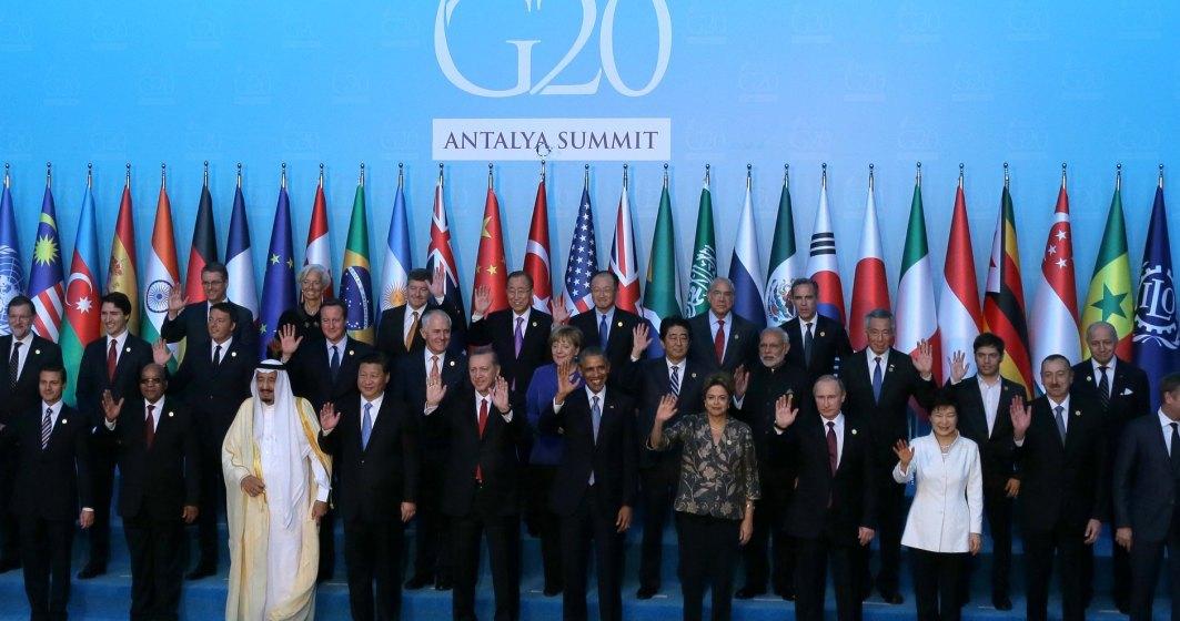 G20: Sefii organizatiilor economice internationale vad riscuri comerciale provocate de protectionism