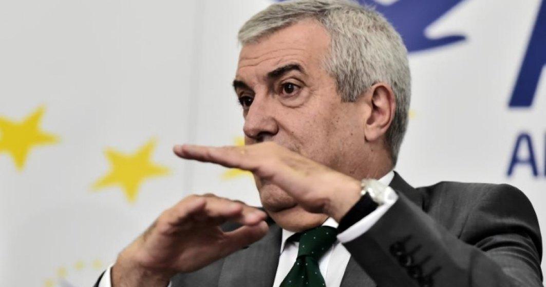 Calin Popescu Tariceanu: Criticile lui Iohannis si PNL la masurile adoptate de Parlament au un sambure de invidie