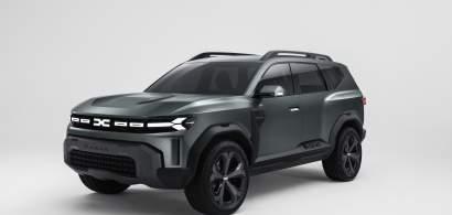 Dacia prezintă conceptul Dacia Bigster, un SUV mai mare decât Duster