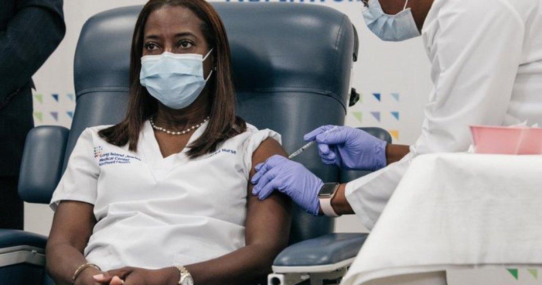 Cine a fost prima persoană din SUA vaccinată împotriva COVID-19