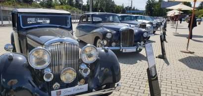 Expoziție auto unicat, în aer liber la Țiriac Collection