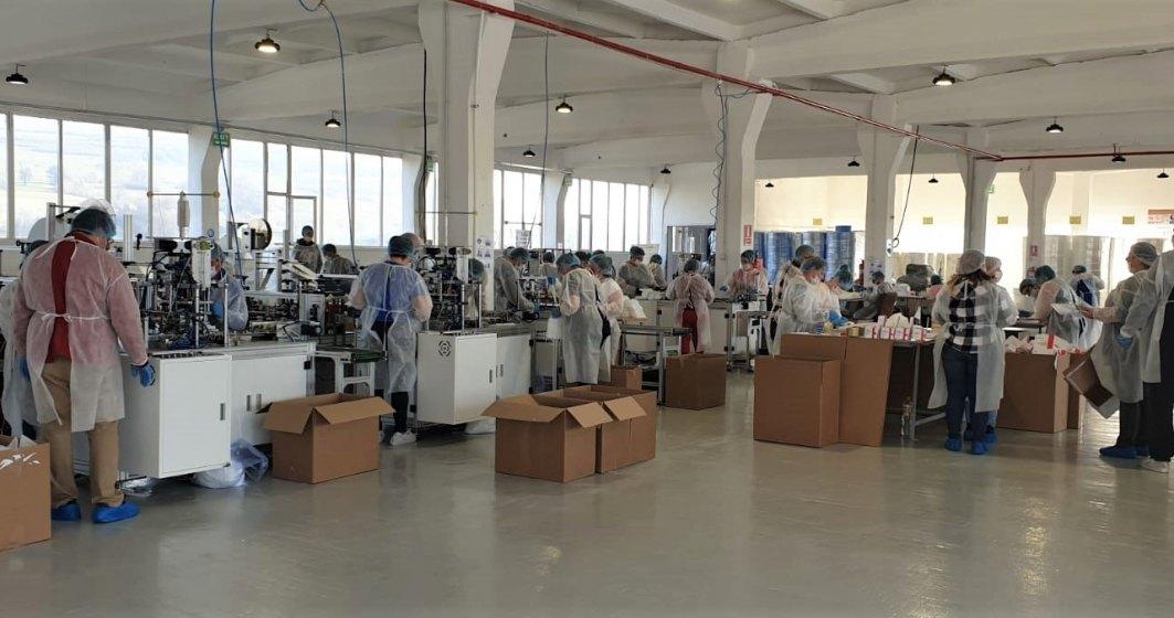 Taparo investește 20 de milioane de euro și își face fabrică de textile medicale. Producătorul de mobilă și-a extins capacitatea de producție de măști chirurgicale