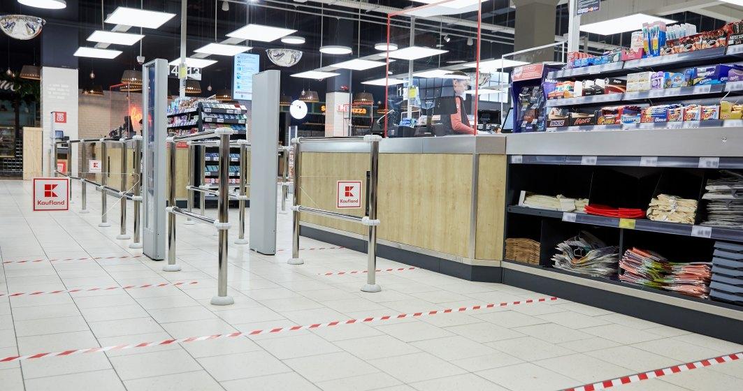 Coronavirus | Kaufland România anunță noi măsuri de siguranță și instalează geamuri de protecție la casele de marcat