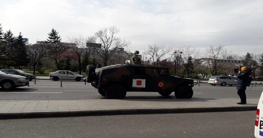 FOTO   Cum arată Bucureștiul sub CARANTINĂ TOTALĂ