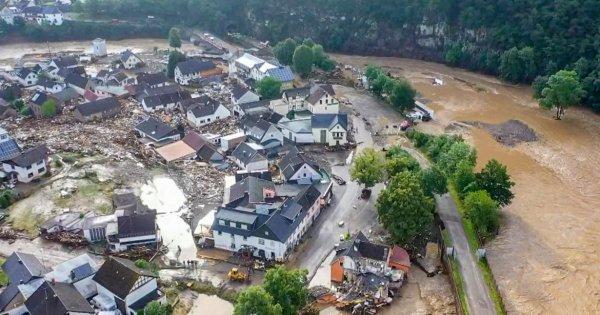 Efectele inundațiilor din Germania: Eforturile de reconstrucție vor depăși 6...