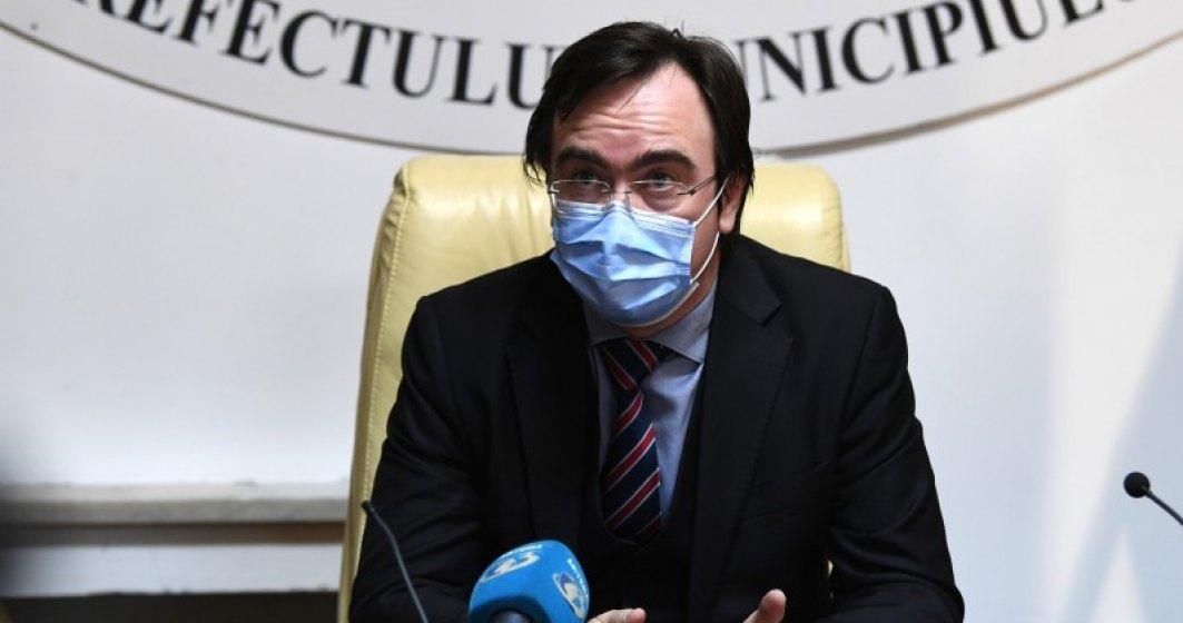 Prefectul Capitalei: Până în octombrie se estimează că vom ajunge la 1.600 de cazuri pe zi, dintre care jumătate ar putea fi în București și Ilfov