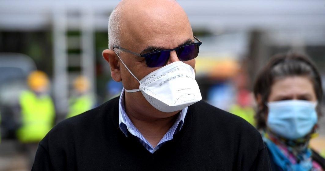 Raed Arafat după o vizită într-o benzinărie: Am pierdut o parte din populație. Tinerii cred că este o glumă