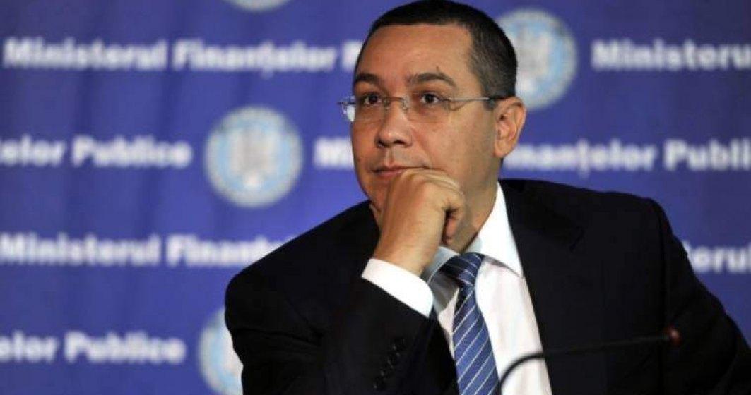 Ponta: Nu ne vom opune anticipatelor, dar nici nu vom ajuta