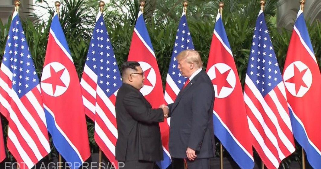 Donald Trump si Kim Jong-un, fata in fata. Documentul semnat de cei doi lideri