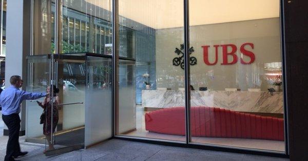 Banca elvetiana UBS risca o amenda-record de 5 miliarde de euro in Franta...