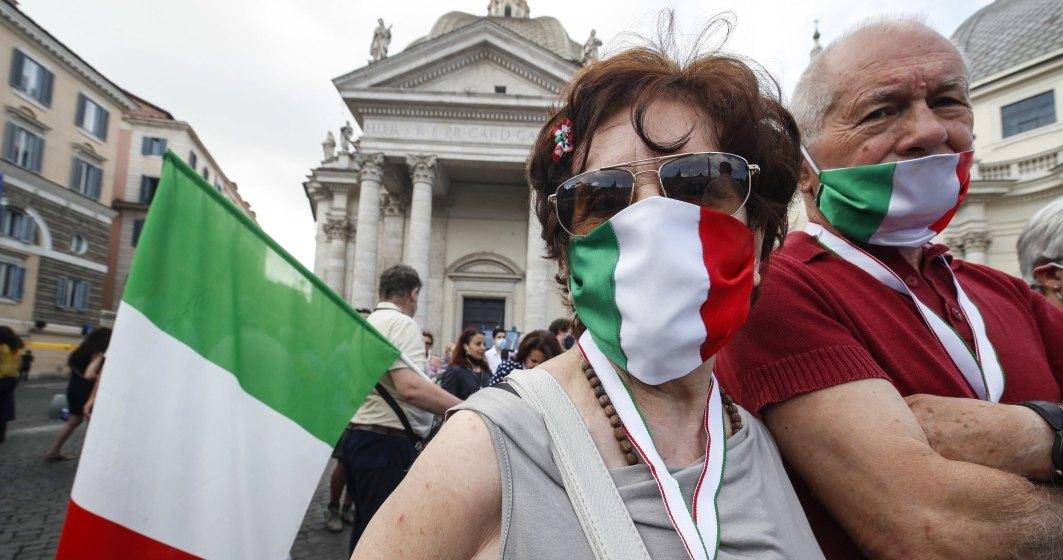 Covid-19: Italia a depăşit pragul de 35.000 de decese