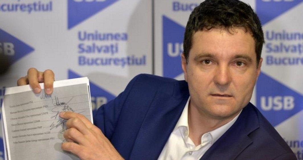 Nicusor Dan: Ne vom opune validarii mandatului de deputat al lui Liviu Dragnea condamnat pentru frauda electorala
