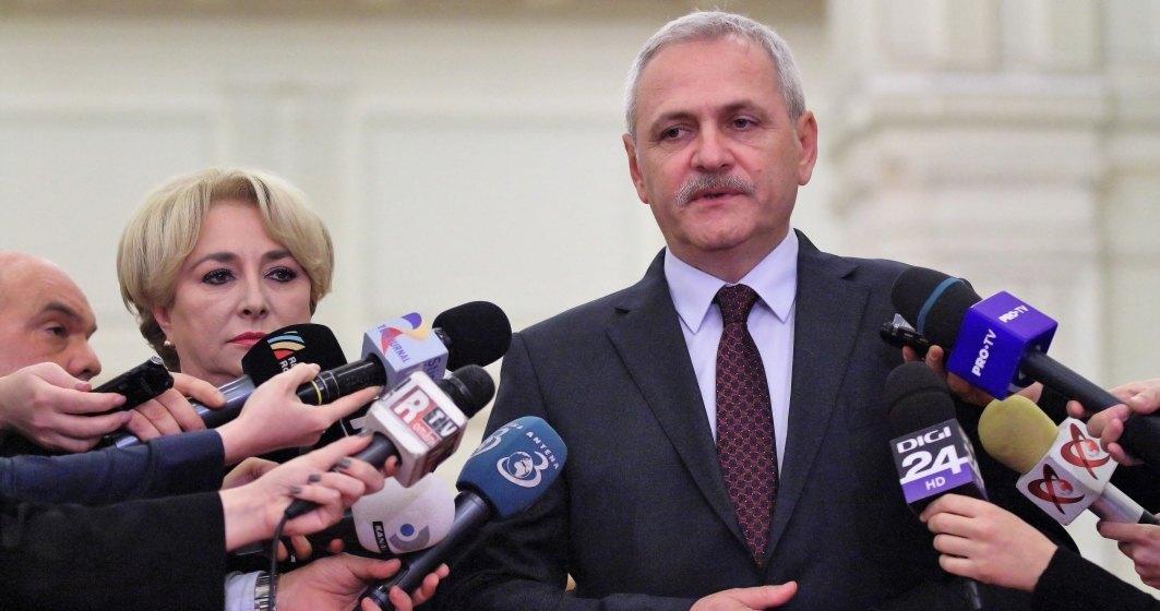 Liviu Dragnea la Congresul PES: PSD va castiga alegerile in Romania si PSOE in Spania