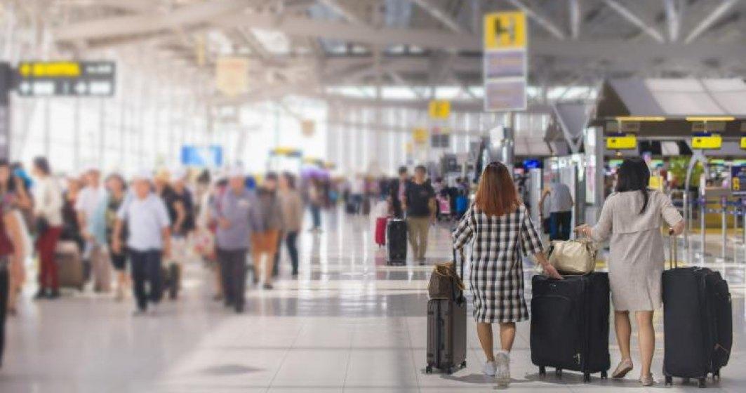 Cati pasageri au tranzitat aeroporturile din Romania in 2018?