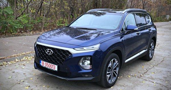 Test drive cu a 4-a generatie Hyundai Santa Fe: un SUV XL cu sisteme moderne...