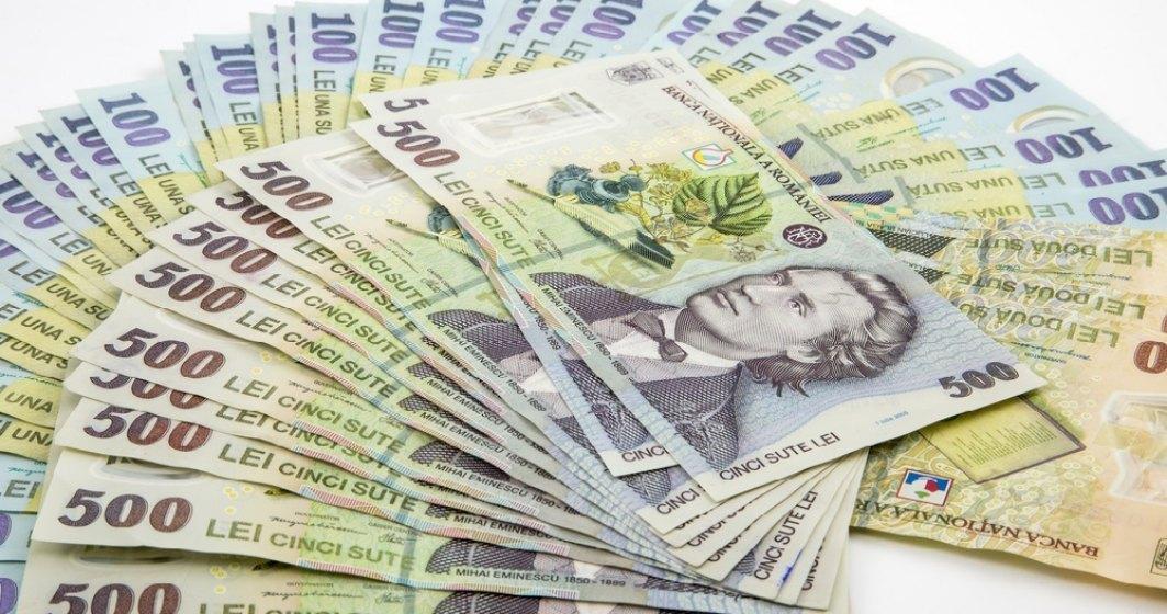 Ministerul Finantelor a imprumutat 648,2 milioane de lei de la banci