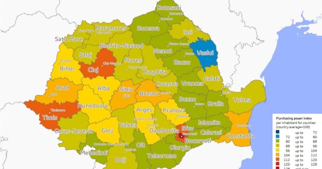 Bucurestenii se apropie de polonezi in privinta puterii de cumparare