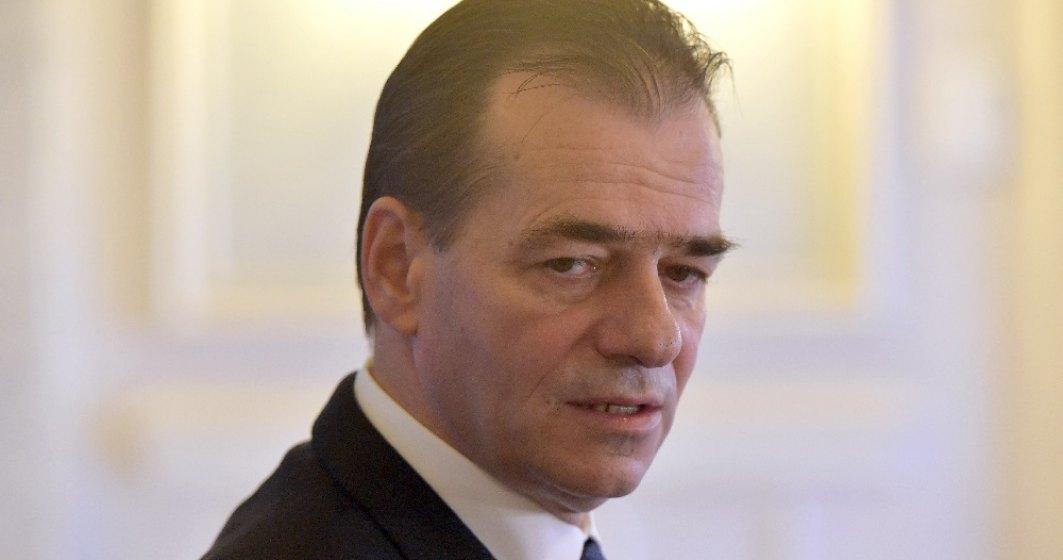 Premierul Ludovic Orban ia în calcul să-și dea demisia