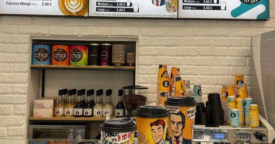 Rețeaua 5 to go deschide prima cafenea în străinătate