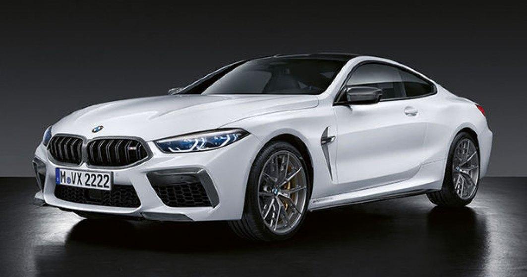BMW M8 Coupe si M8 Cabrio primesc accesorii din partea M Performance: elemente de caroserie din fibra de carbon si un sistem de franare mai bun