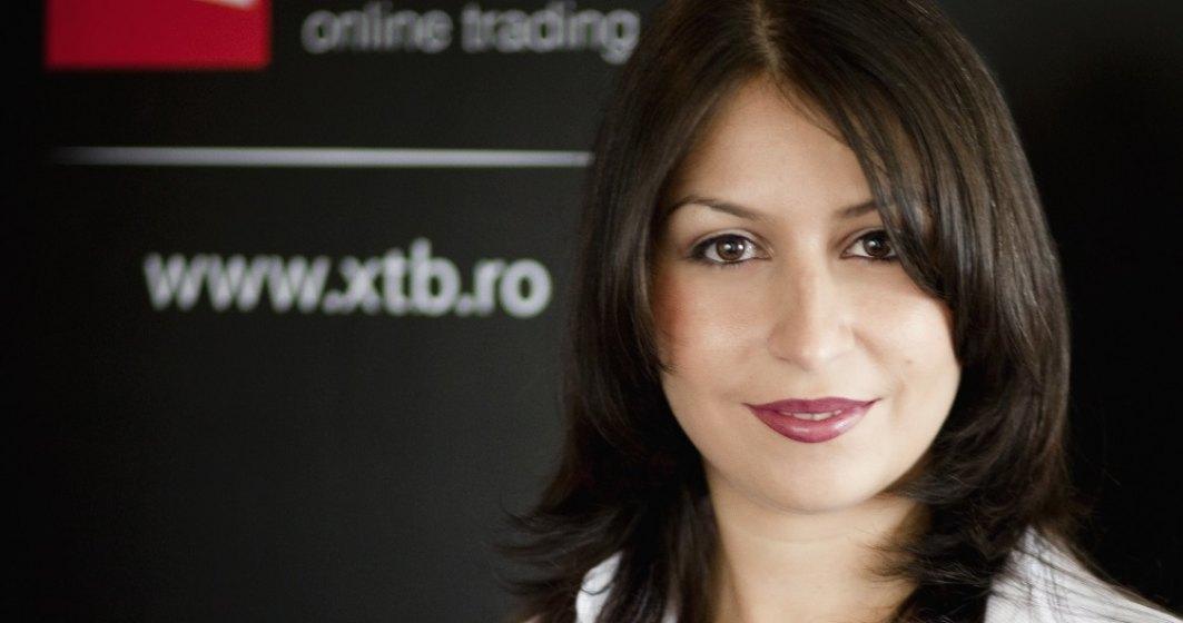 Noua sefa a XTB Romania: Multi dintre romanii cu bani in Petrom sau Banca Transilvania se gandesc si la Apple. Vrem sa complementam oferta locala